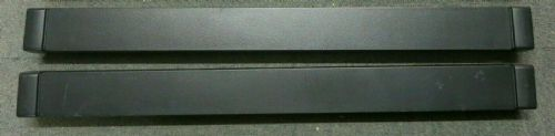 2 x HP 464695-001 Universal Rack Server Cabinet Black Blank Slot Filler Panel